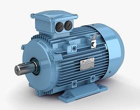 3D model Electric Motor industrial