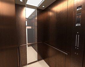 Elevator engineering 3D model