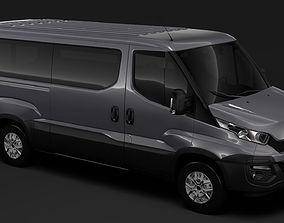3D model Iveco Daily Window Van L2H1 2014-2016