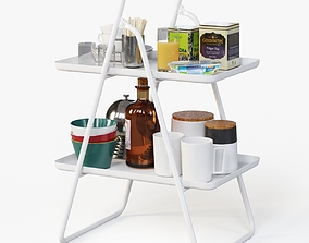 bowl 3D model VIGGJA Tray stand