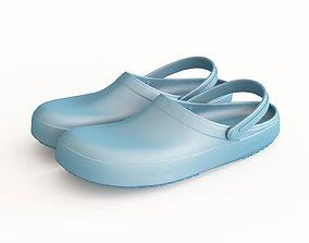 Rubber slippers 3D model
