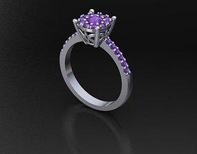 3D printable model Ring Oval Rosette