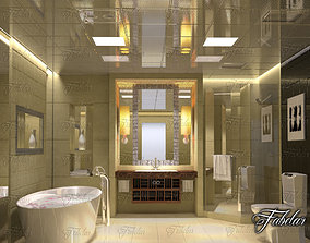 photoreal bathtub 3D model Bathroom