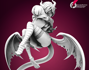 Succubi-Chan 3D printable model sexy