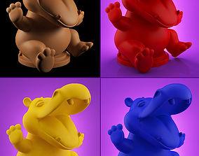 Hippo 3D print model
