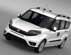3D Fiat Doblo Maxi 152 2017