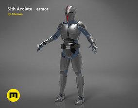 3D printable model Sith Acolyte - armor