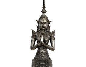 Female Thepphanom 3D model