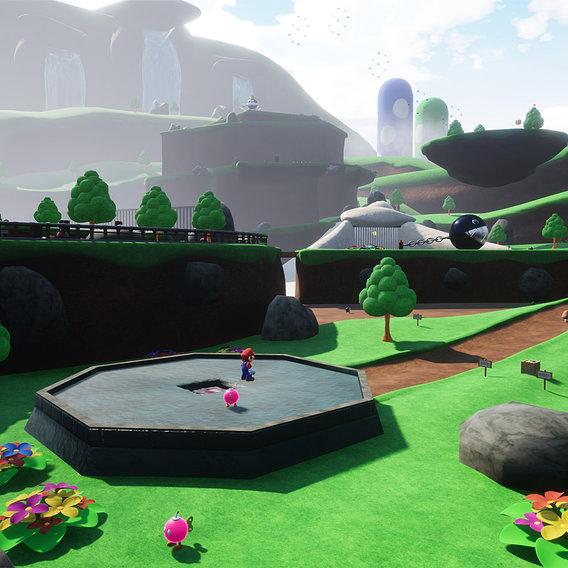 Bob Omb Battlefield - Super Mario 64