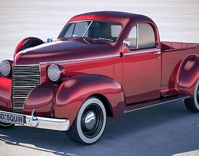 3D Studebaker Coupe Express 1938
