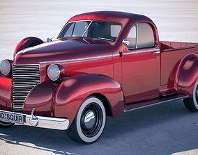 3D model Studebaker Coupe Express 1938