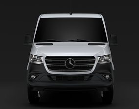 3D model Mercedes Benz Sprinter Panel Van L2H1 RWD 2020