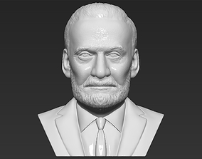 Buzz Aldrin bust 3D printing ready stl obj