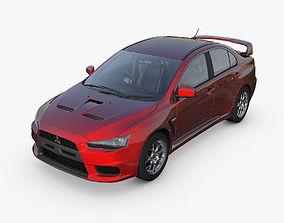 Mitsubishi Lancer Evo X 3D