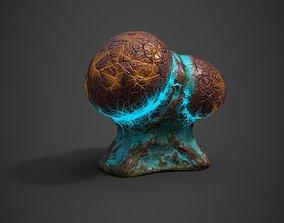 Alien Flora 3D model low-poly