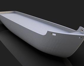 SHIP DECK ONLY 3D MODEL