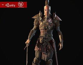 3D asset Crusader remastered