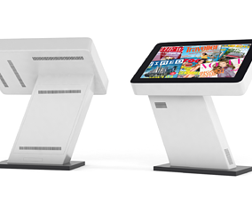 3D model Informtion Kiosk