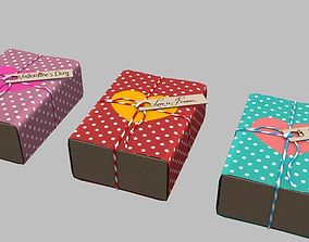 Boxers Gift I Love You 3D asset