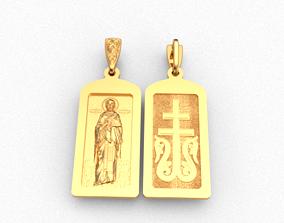 jewelry Saint Nicholas 3D printable model