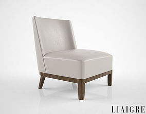 3D model Christian Liaigre Mandarin chair