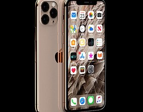 3D model iPhone 11 Pro Max mobile
