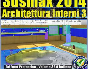 3ds max 2014 Architettura Interni 3 vol 32 Italiano cd 1