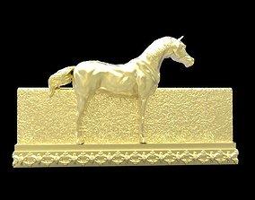 3D print model fresco Galloping Horse in reliefs