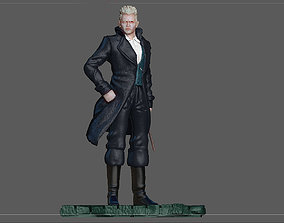GRINDELWALD JOHNNY DEPP FANTASTIC 3D printable model 2