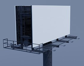 3D model Two-Sided Billboard