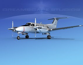 Beechcraft UC-12Q Huron V08 USMC 3D