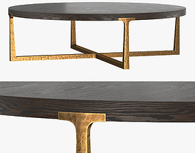 3D model T-BRACE ROUND COFFEE TABLE 55