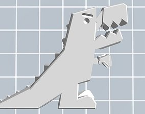 3D T-REX with moving arms and mouth