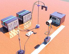 3D asset Ultrasonic Doppler effect Metal