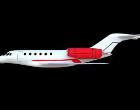 private jet 3D model