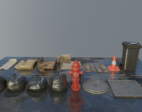 3D asset Street Collection