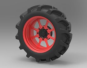 Wheel from Mud truck 3D