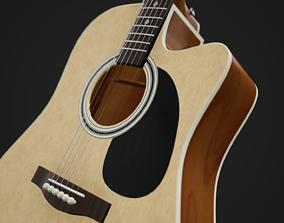 Acoustic Guitar 3D PBR