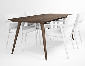 Zio Dining Table 3D