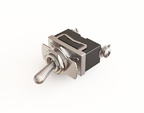 Toggle switch 03 3D