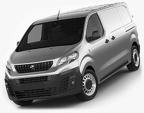3D model Peugeot Expert 2016 panel van