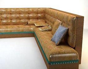 3D Turkish Hookah Sofa
