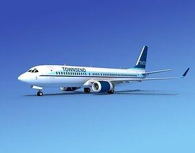 3D model Boeing 737-800 Townsend