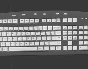 3D pop-up Computer Keyboard