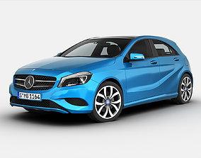 3D Mercedes Benz A Class 2013