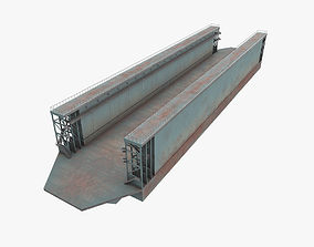 Floating Dock 2 3D model