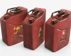 game-ready Jerrycan Asset 02