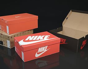 boxes Shoe box Nike 3d