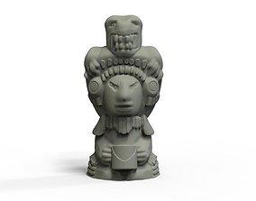 Mayan Figure 2 3D printable model