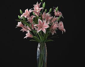 3D model Lily 01